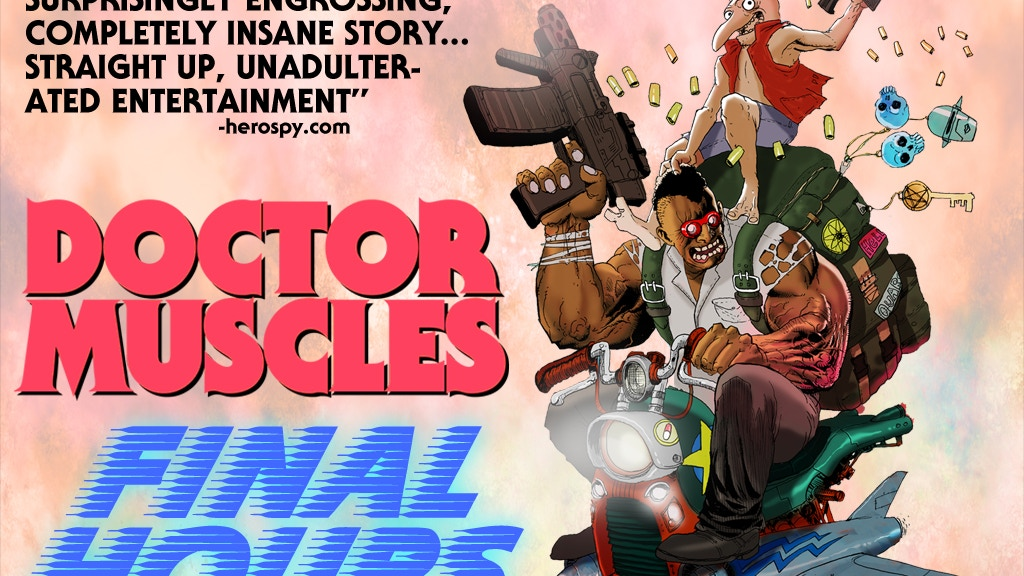 DOCTOR MUSCLES (a graphic novel) project video thumbnail