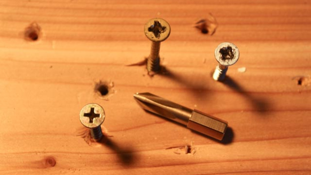No.3 Phillips Screwdriver Bit that turns NEW & OLD screws! project video thumbnail