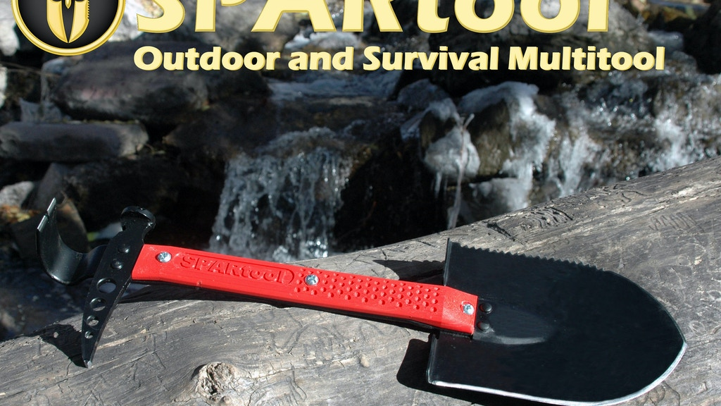 SPARtool Outdoor and Survival Multitool project video thumbnail