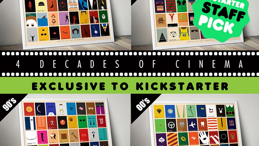 4 Decades of Cinema: Limited Edition Art Prints project video thumbnail