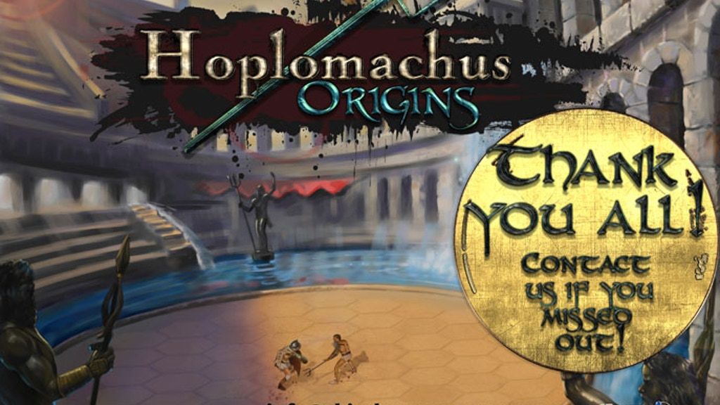 Hoplomachus: Origins project video thumbnail