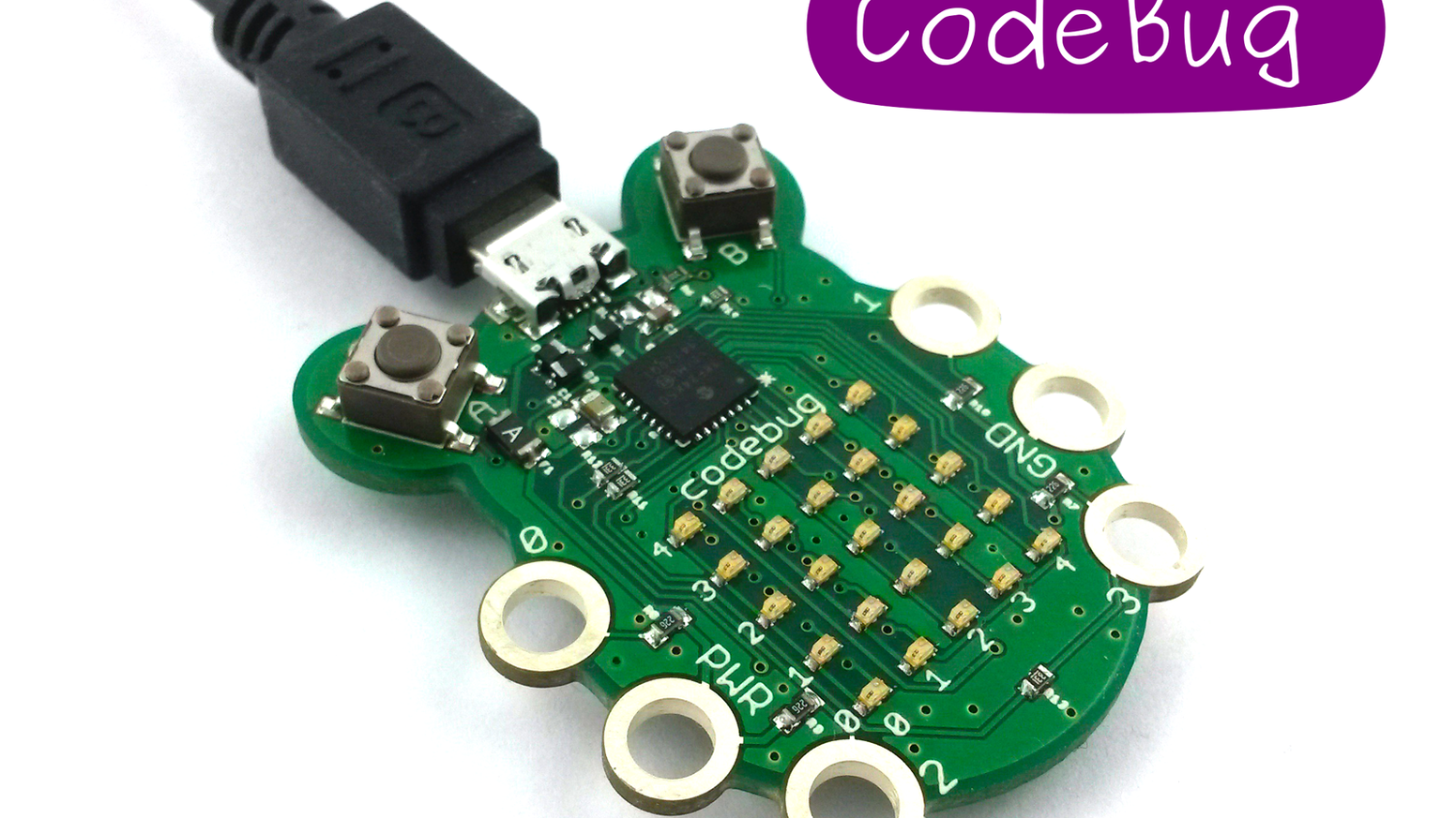 Codebug By Kickstarter Fun And Easy To Design Share Produce Electronic Circuit Boards The Cute Programmable Light Up Wearable For Everyone An Instant