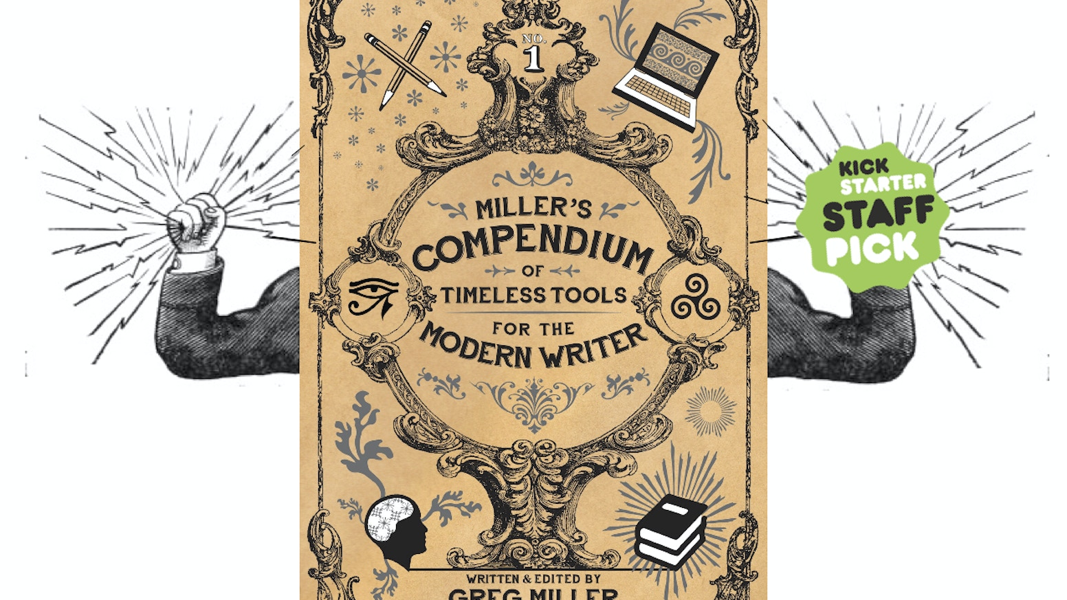 """Miller's Compendium of Timeless Tools for the Modern Writer"" is an encyclopedic catalog of writing resources in clickable e-book form."