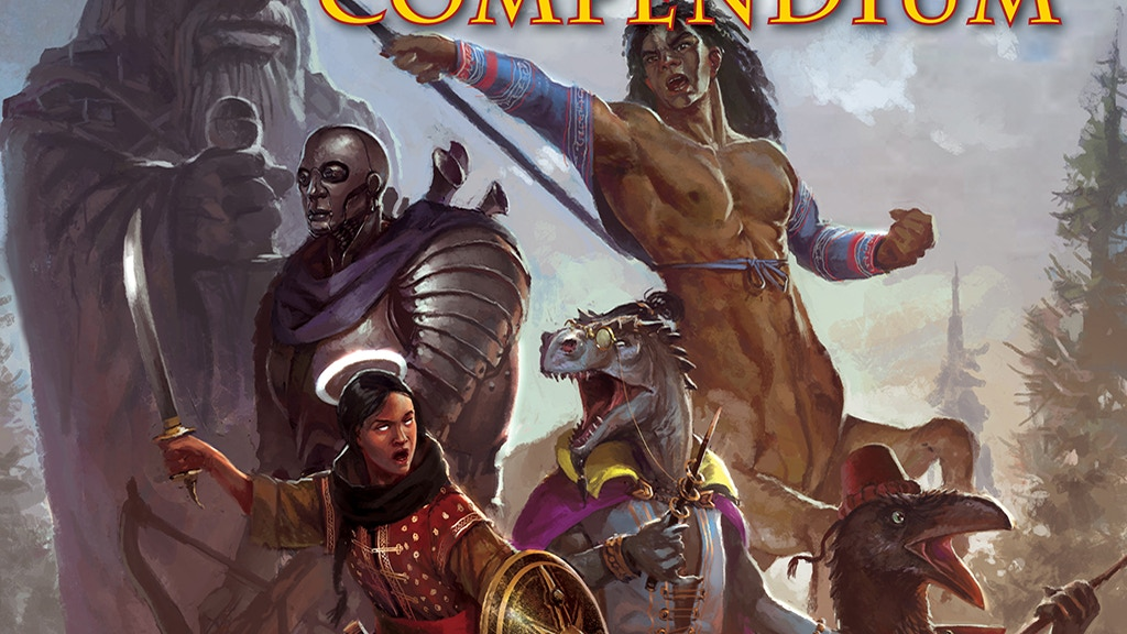 Advanced Races Compendium for Pathfinder Roleplaying Game project video thumbnail