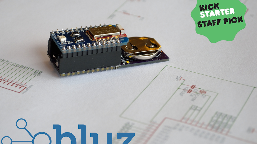 Bluz: A cloud-connected, Bluetooth LE development kit project video thumbnail