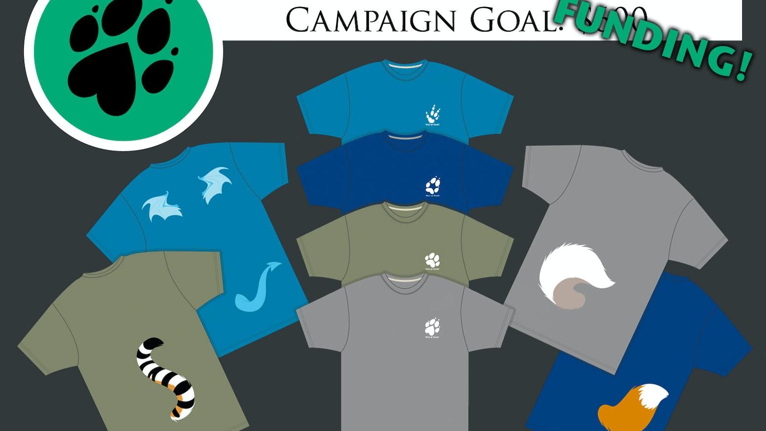 Wild Heart Furry Animal Tail Shirts By Studio Cute Kickstarter