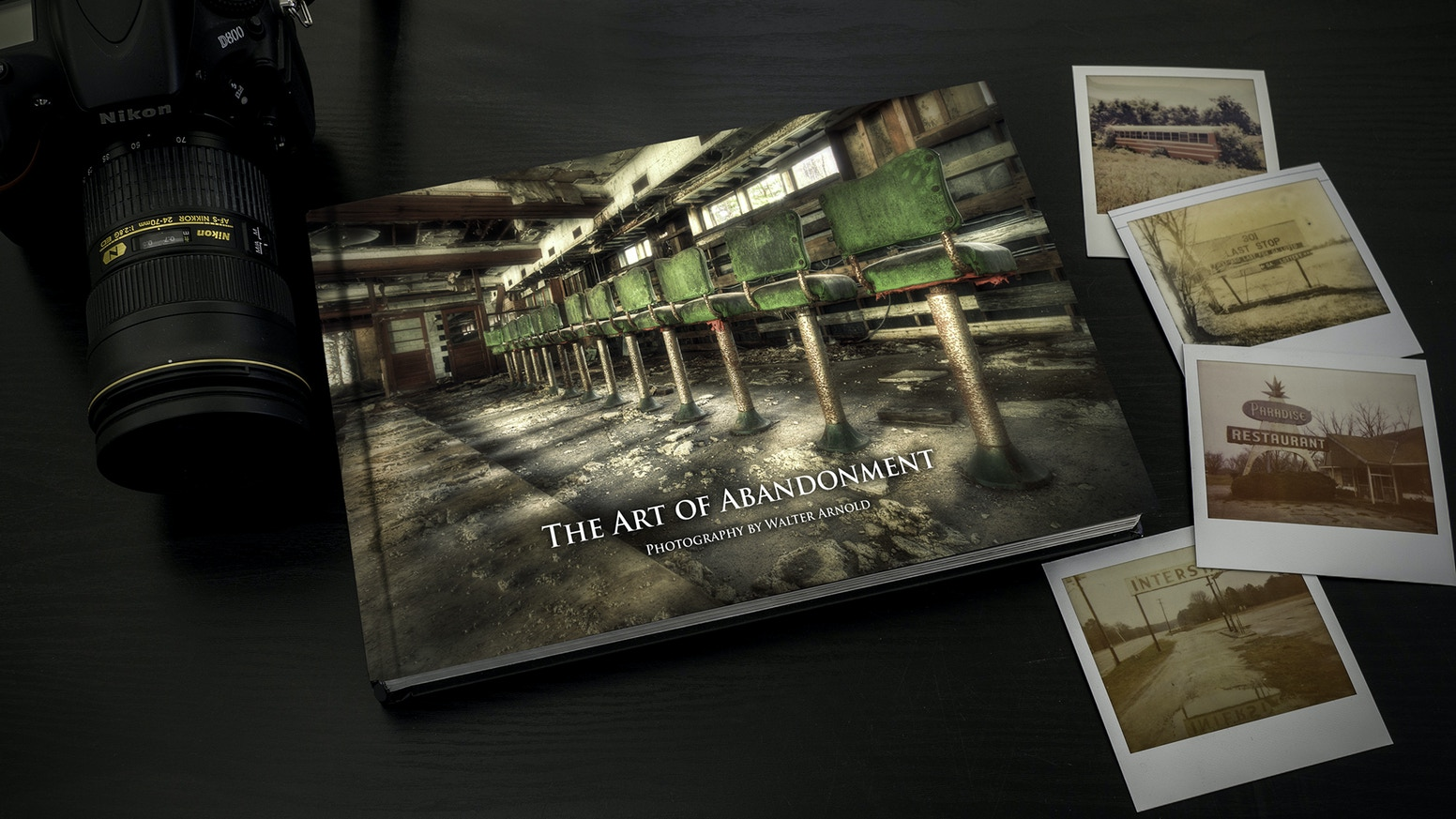 The Art of Abandonment is an award winning photographic series that explores the beauty and history of our modern ruins.