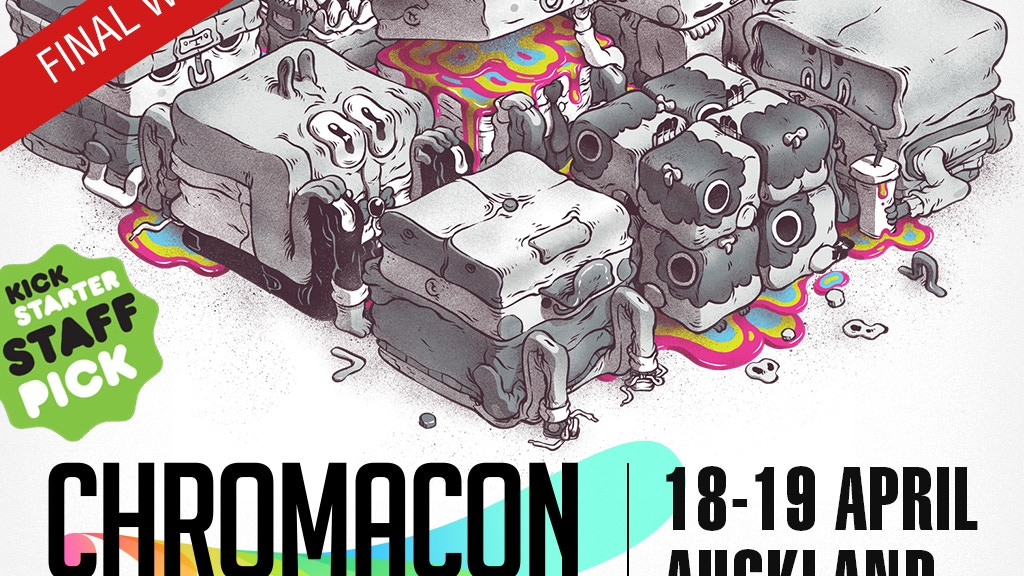 Chromacon Indie Arts Festival 2015 project video thumbnail