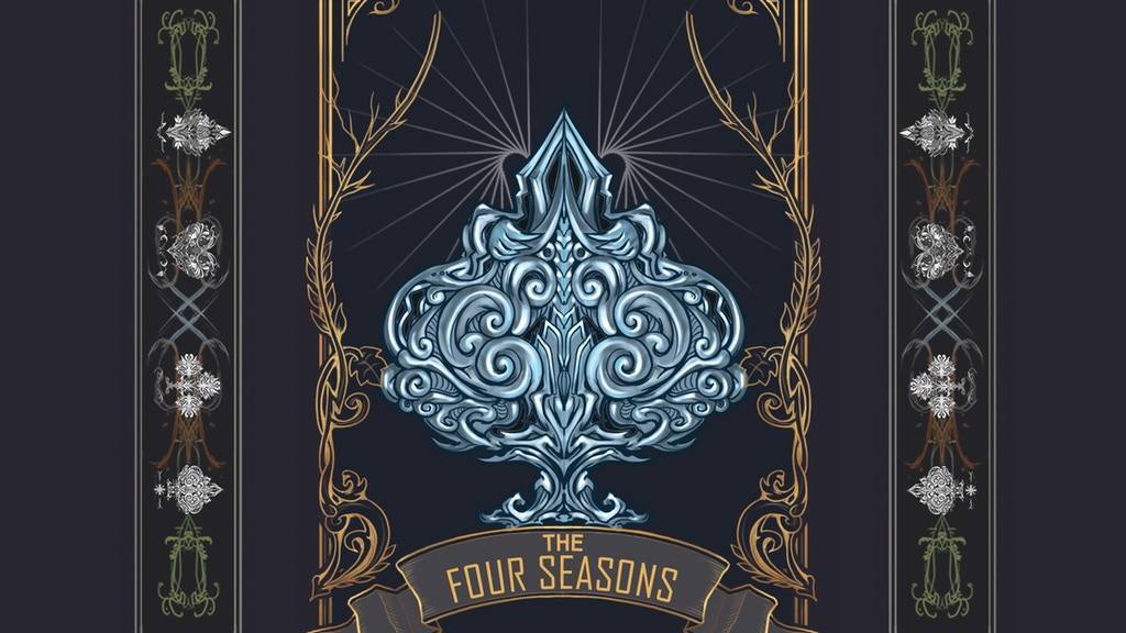 The Four Seasons Playing Cards project video thumbnail