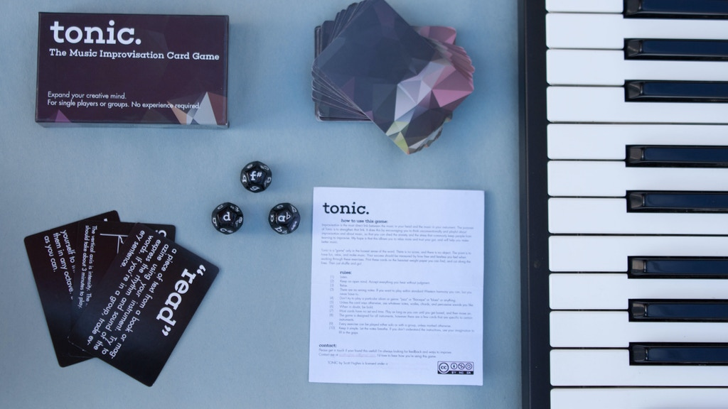 TONIC - The Card & Dice Game for Musicians project video thumbnail