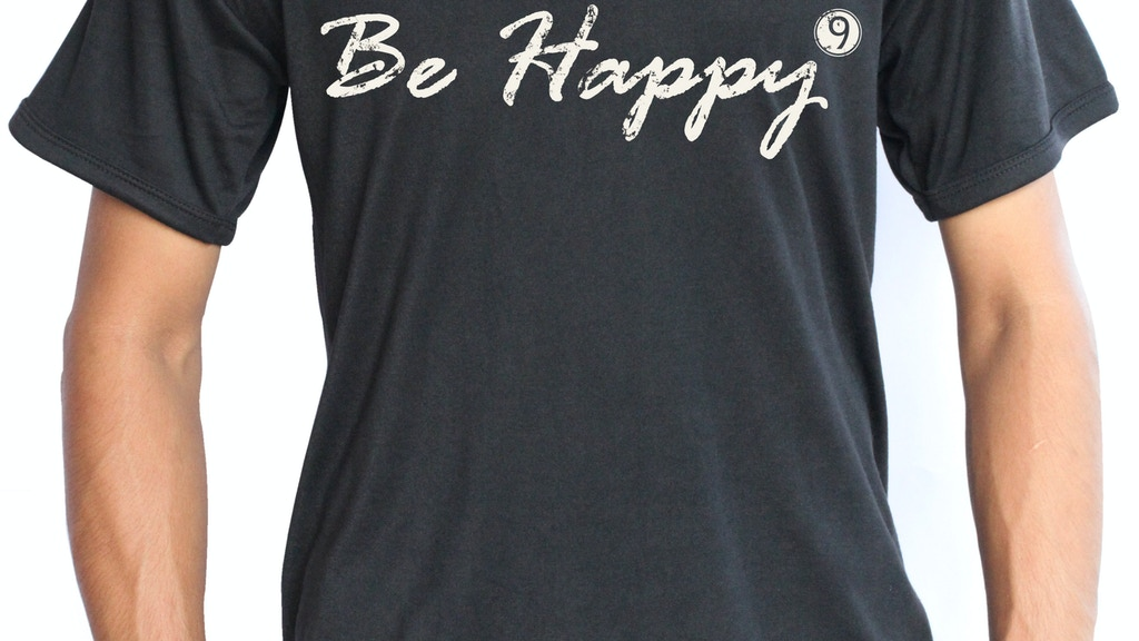 9HappyPeople: Buy a t-shirt, create a job. project video thumbnail