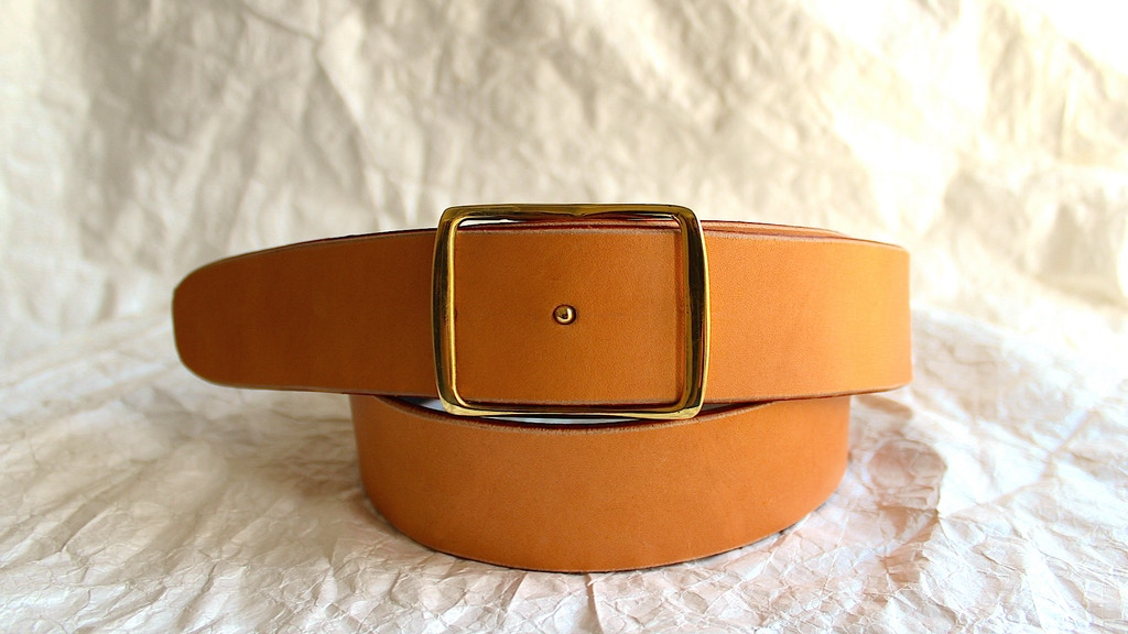 SHIBUI the anatomically correct belt project video thumbnail