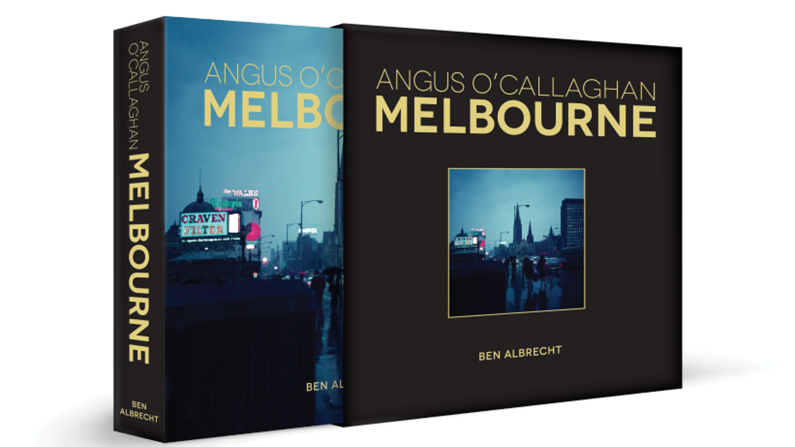 This coffee table book features Melbourne as never seen before through the eyes of an artist now 93 years old. Melbourne from 1968-1971
