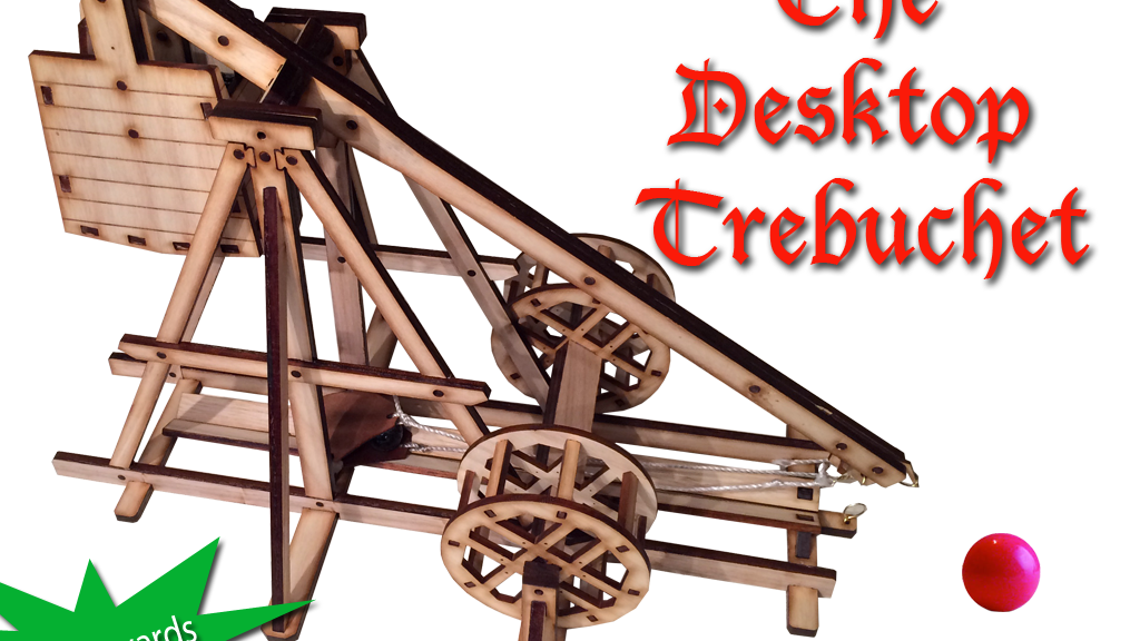 Desktop Trebuchet: Get Medieval on Some Gumballs project video thumbnail