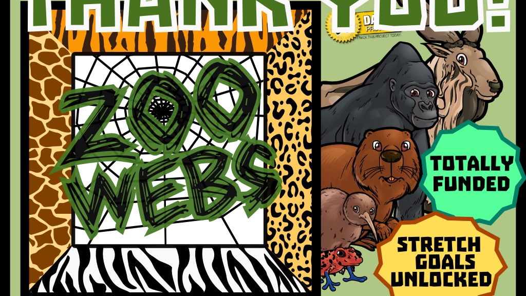 Zoo Webs -- Wild Animal Conservation Card Game! project video thumbnail
