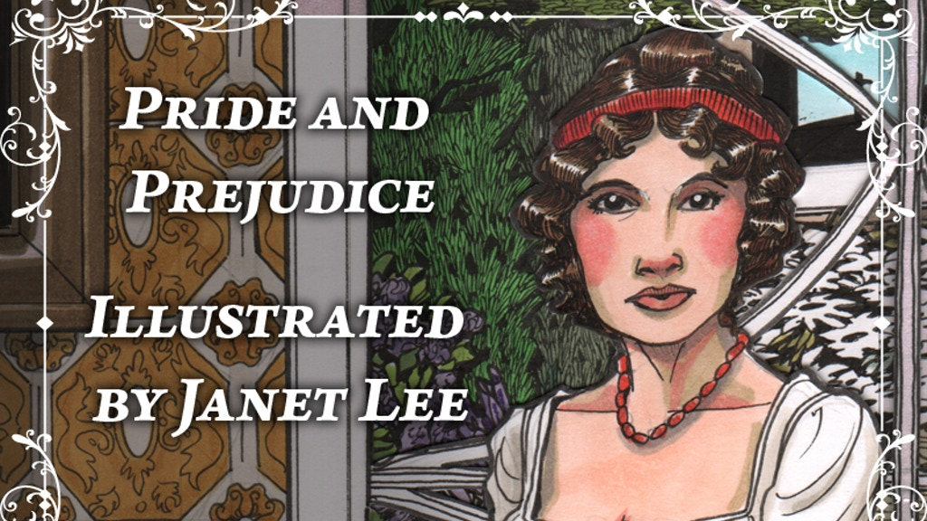 Pride and Prejudice Illustrated by Janet Lee project video thumbnail