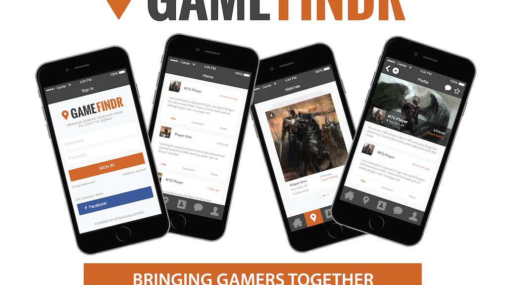 GameFindr-Free App Locates Players For TCG & Tabletop Games project video thumbnail