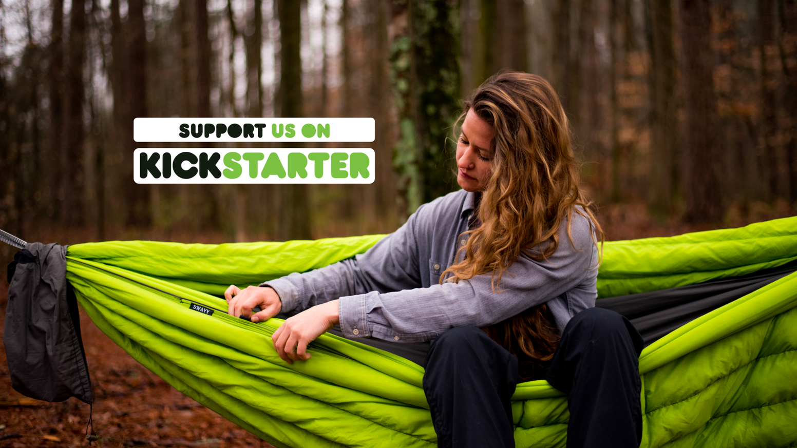 SWAYY is a TN based insulated hammock company. Our aim: Minimize your needed gear and to get you outside! Let us SWAYY you.