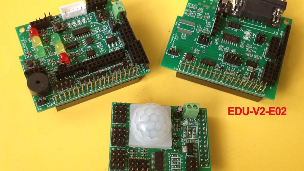 Modules HAT EDU Learning Kit - V2  for Raspberry Pi  B+  B2 project video thumbnail