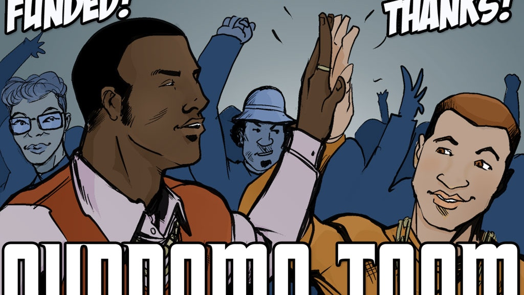 Supreme Team, a comic about crime, crack, and hip-hop project video thumbnail