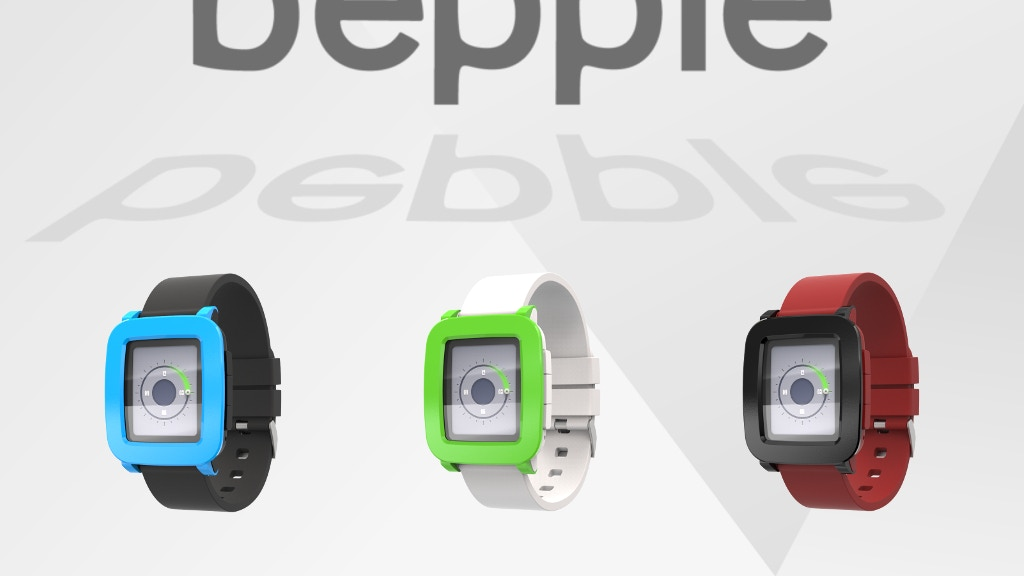 Bepple Covers  -  personalize and protect your Pebble Time Project-Video-Thumbnail