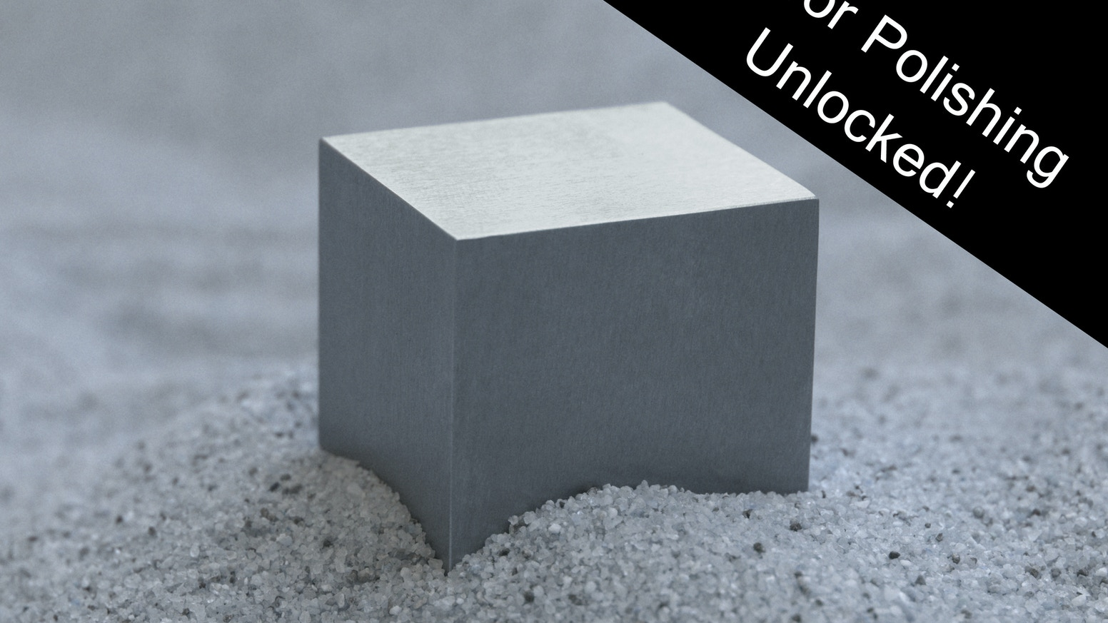 Cubit: Perfect Cubes Of Ultra-Dense Tungsten By Joel Ifill