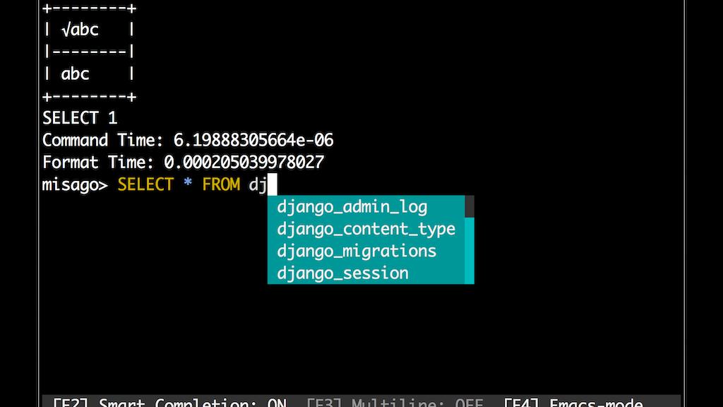 CLI for MySQL/MariaDB project video thumbnail