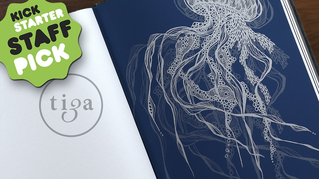 tiga│Sketchbooks with beauty, art and soul project video thumbnail