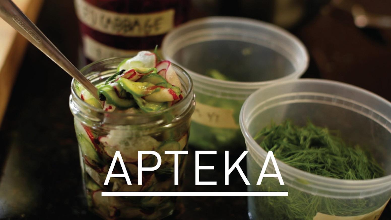 APTEKA: Eastern European Kitchen + Bar by Kate Lasky & Tomasz ...