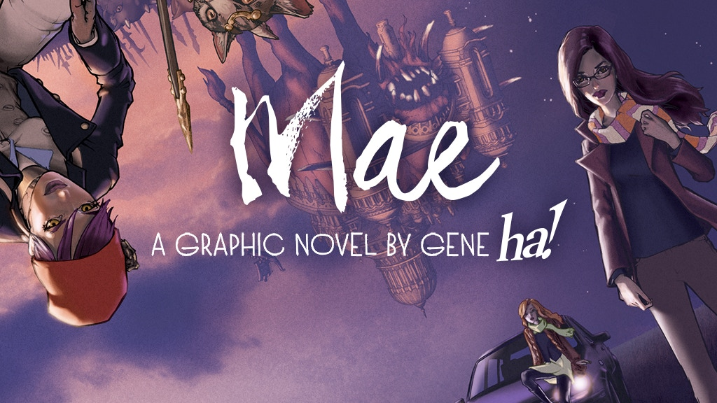 MAE Graphic Novel project video thumbnail