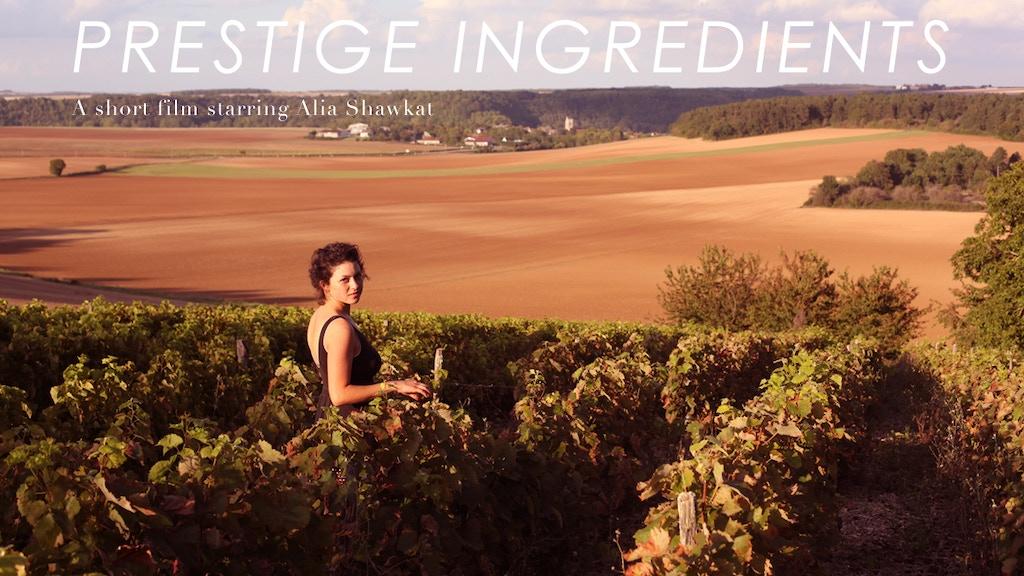 """""""Prestige Ingredients"""" - A Short Film Starring Alia Shawkat project video thumbnail"""