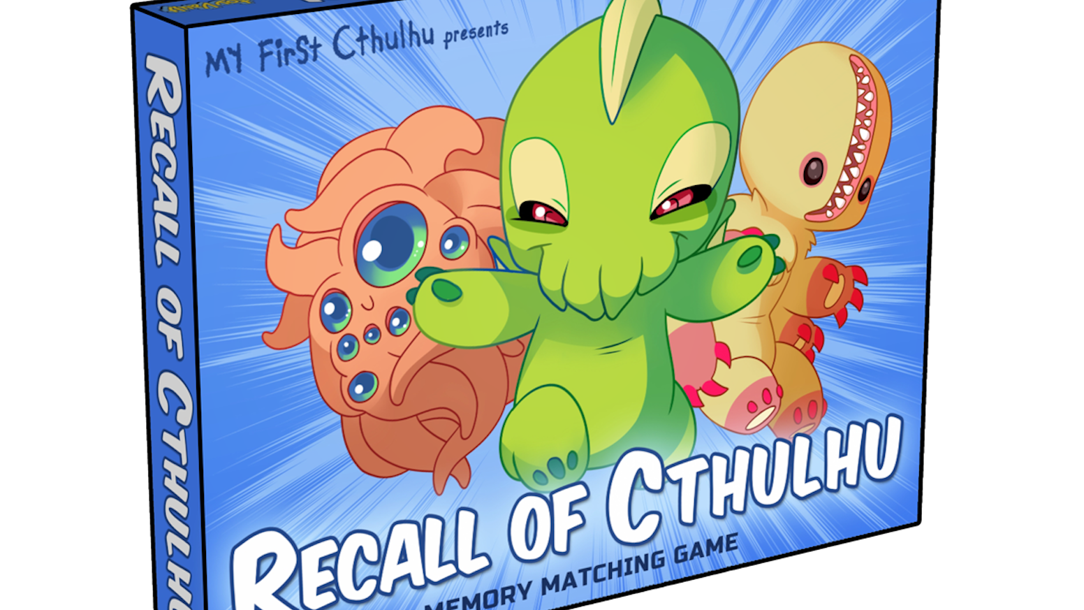 recall of cthulhu a children s memory matching game by toy vault