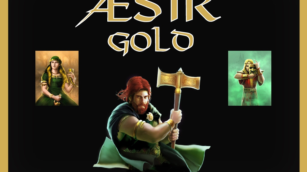 Æsir Gold Playing Cards and Prints project video thumbnail