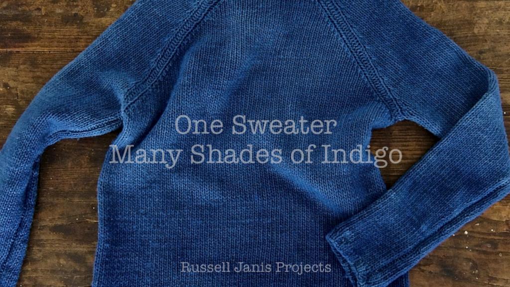 One Sweater Many Shades of Indigo project video thumbnail