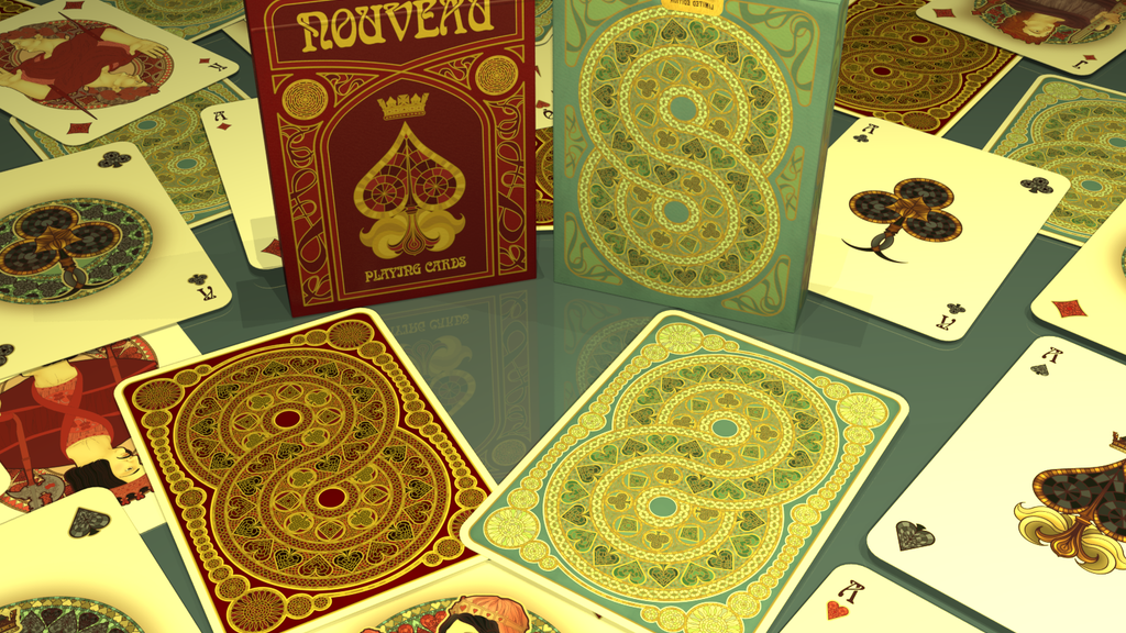 Project image for NOUVEAU Playing Cards