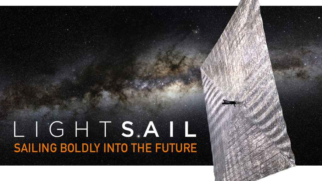 cd36a28c984a08 LightSail  A Revolutionary Solar Sailing Spacecraft project video thumbnail