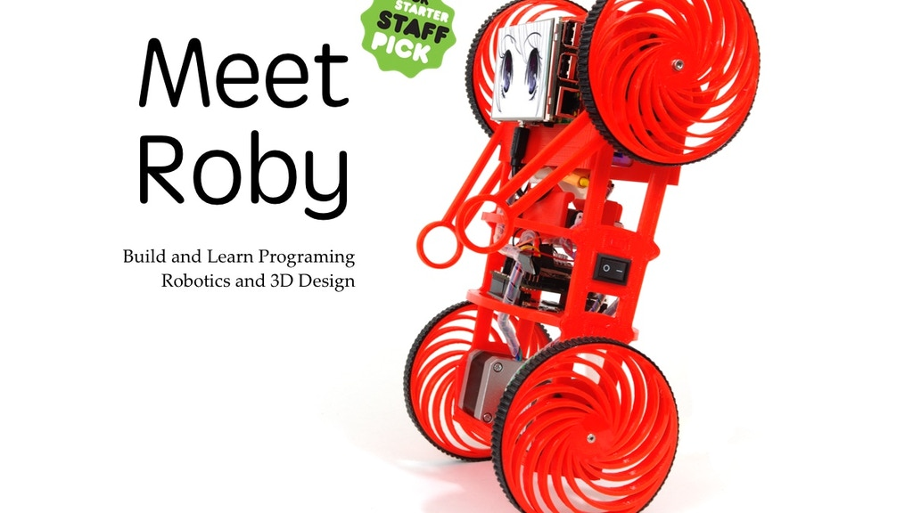 3D Printed Educational Robotic Platform Roby project video thumbnail