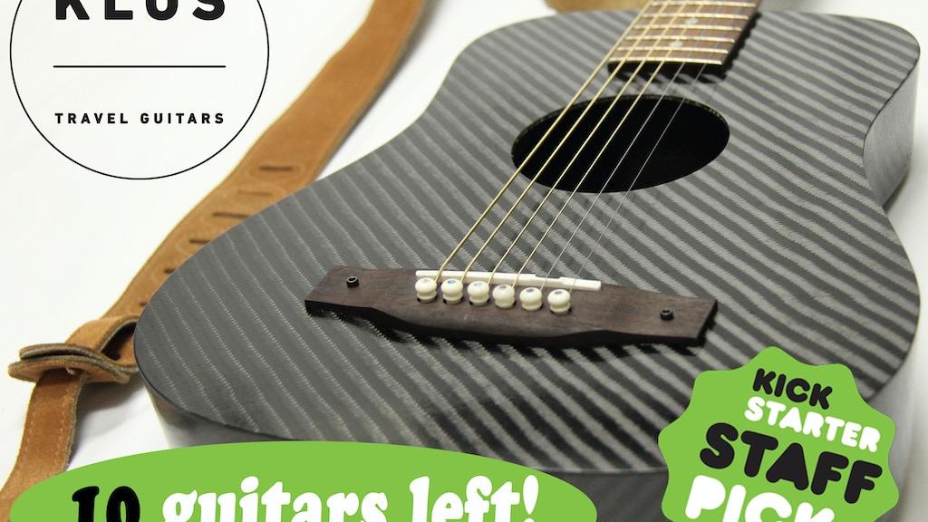 Carbon Fiber Adventure Travel Guitars project video thumbnail