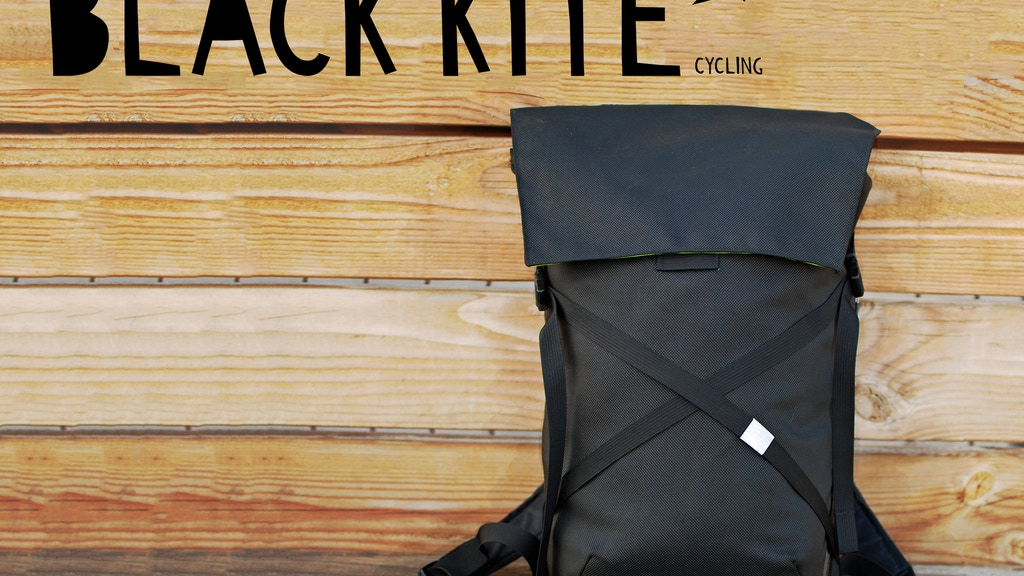 Black Kite Cycling Backpack project video thumbnail