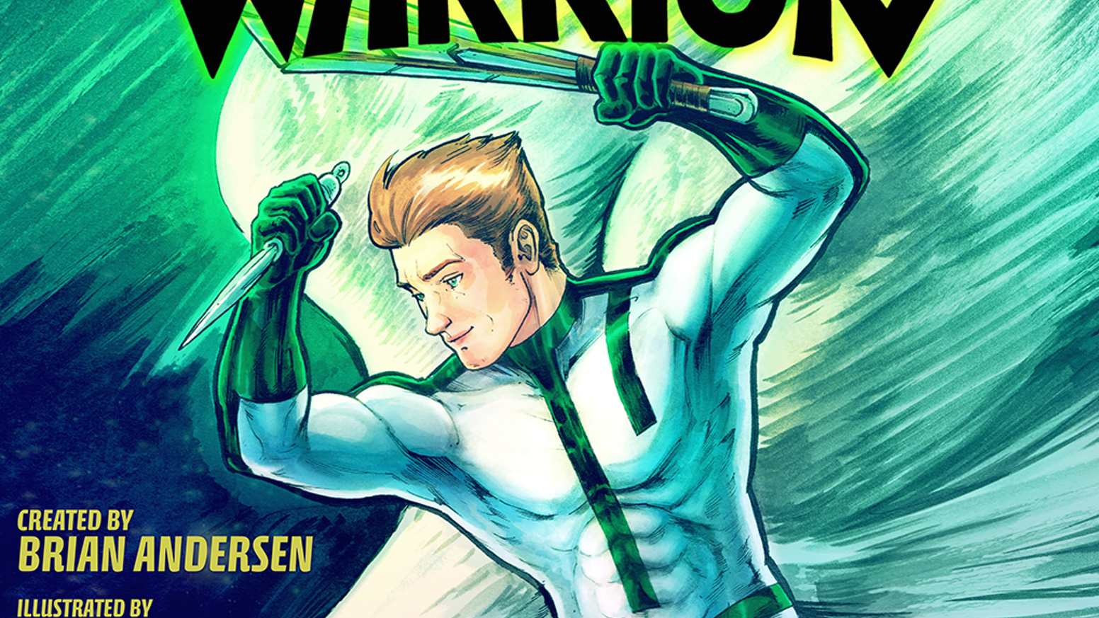 'Stripling Warrior' is an exciting, fun new comic book about the world's first Gay Mormon Superhero.