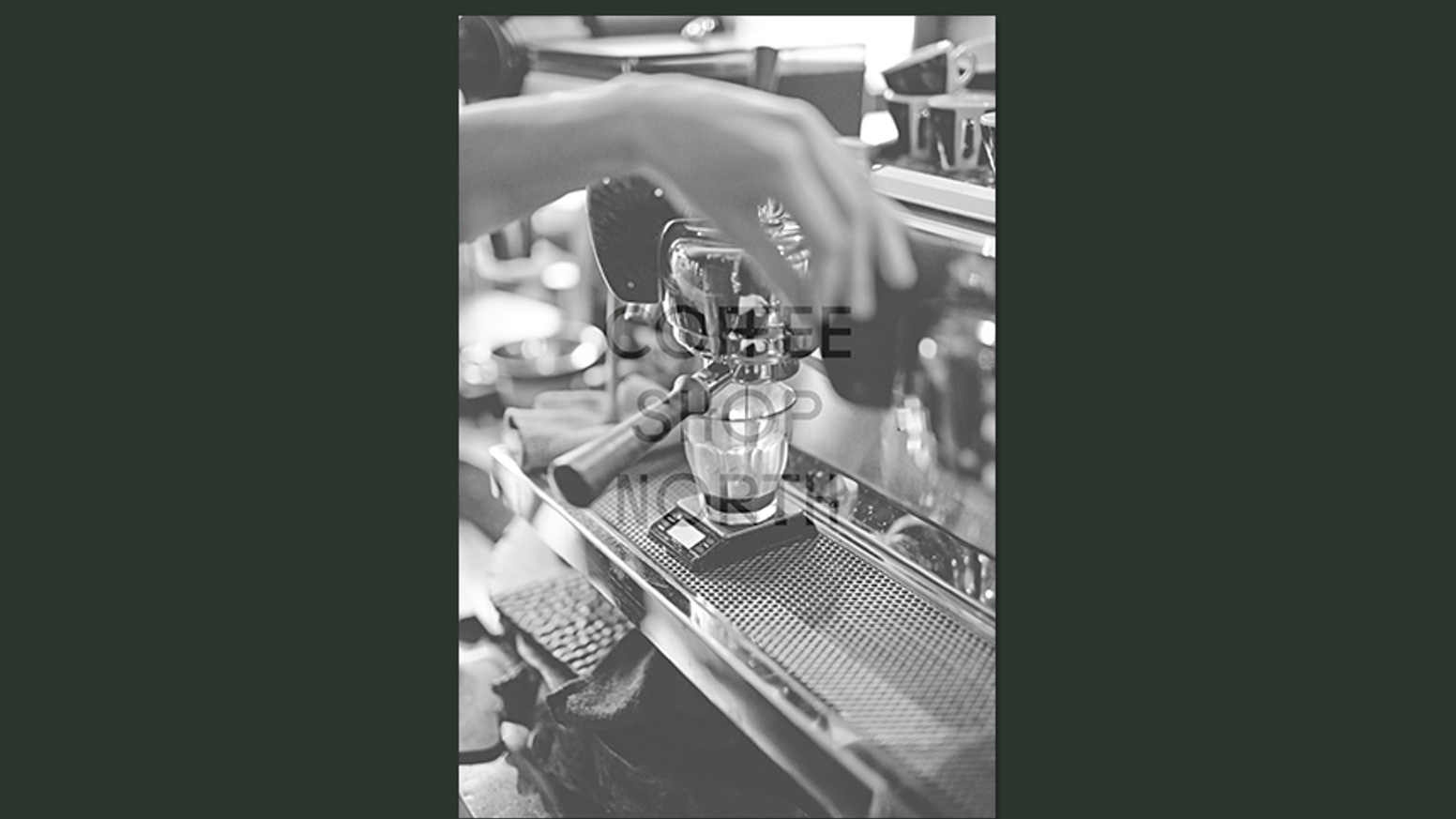 The first visually-led book that serves to document, explore and showcase the independent coffee scene in north England.