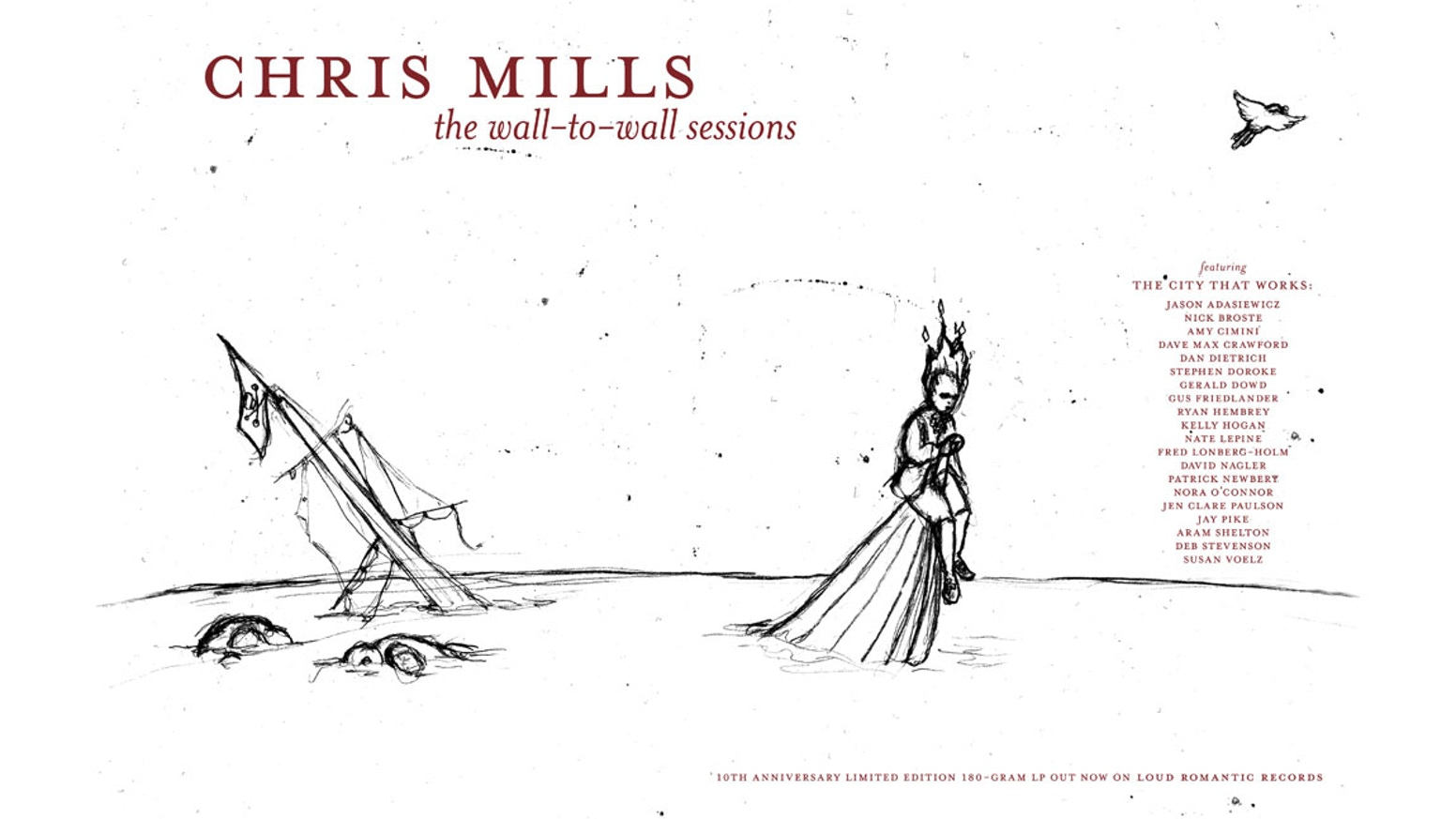 The Wall To Wall Sessions 10th Anniversary LP! by Chris
