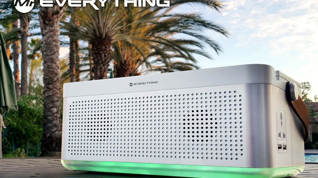 Mr. Everything: All-in-One Charging, Power & Speaker Station project video thumbnail