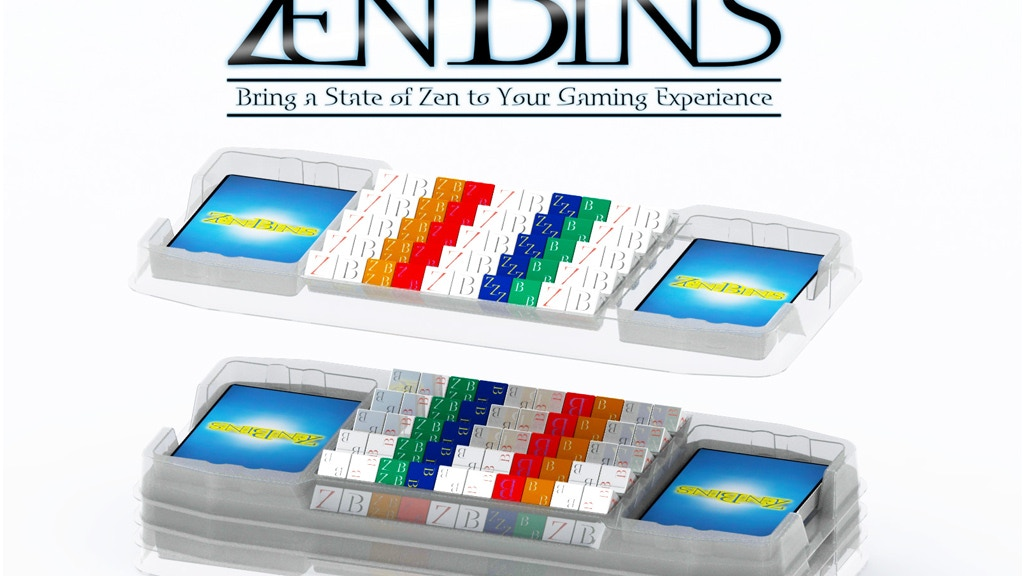 Zen Bins Collectible Dice Game Storage (CDGS) project video thumbnail
