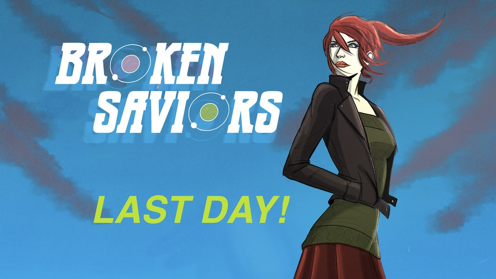 BROKEN SAVIORS: Alien Invasion Comic Book project video thumbnail