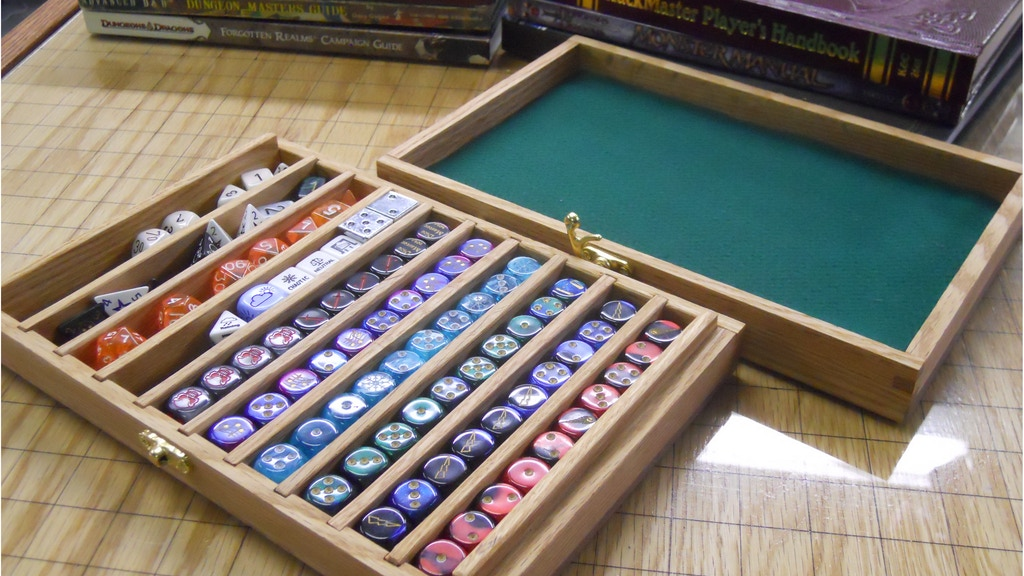 Dice Display Box and Rolling Tray project video thumbnail