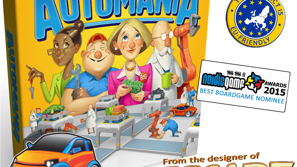 Automania - Board game project video thumbnail