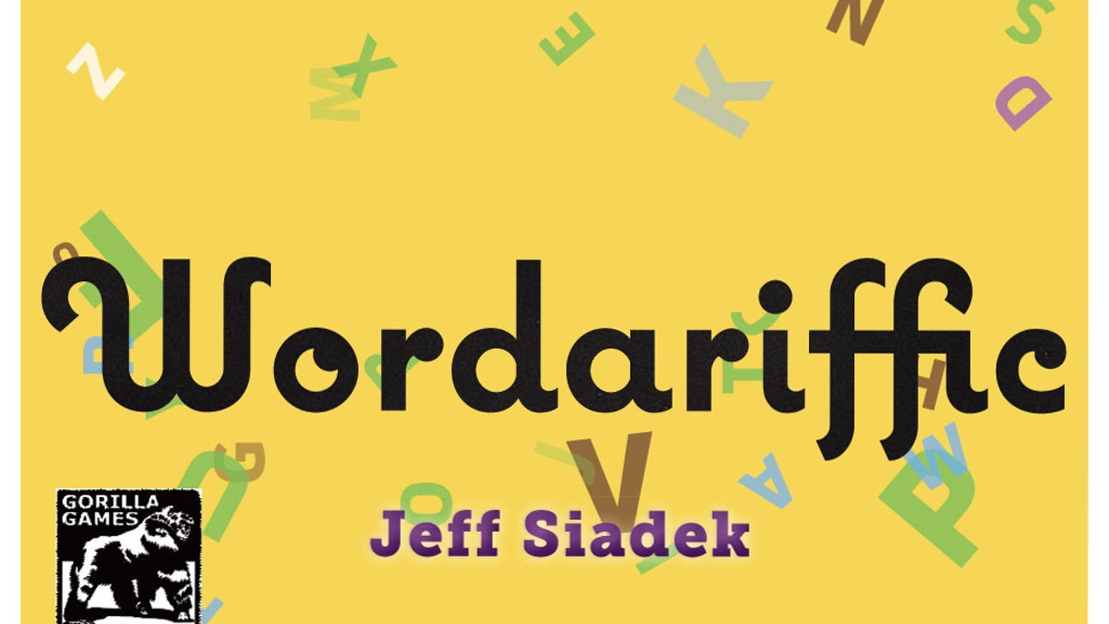 wordariffic tabletop word game party
