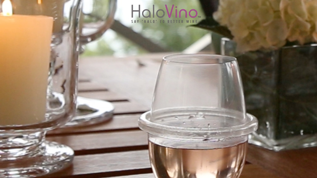 HaloVino: Shatterproof, Stackable, Stemless Wine Glass project video thumbnail