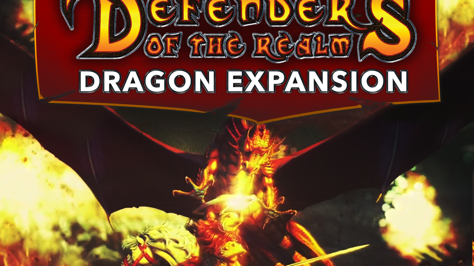 7 New Dragon Generals & Dark Agents, New Art & Rules are in this 2nd Edition Expansion of DOTR--the classic Co-Op Fantasy/Strategy Game